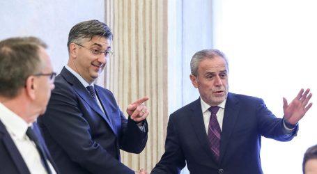 Plenković s Bandićem razgovara o zagrebačkim projektima
