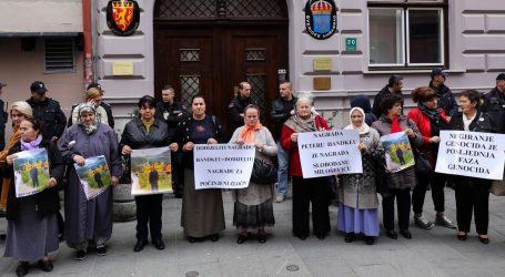 Prosvjed bošnjačkih udruga zbog Nobelove nagrade Handkeu