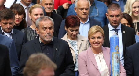 ODUSTAO OD KANDIDATURE Bandić uz Kolindu Grabar Kitarović
