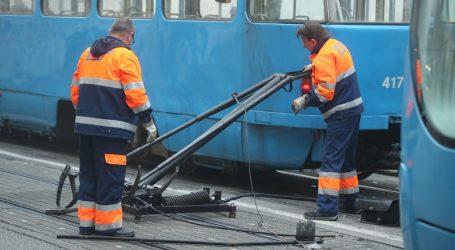 Zastoj tramvaja na Glavnom kolodvoru zbog oštećenja kontaktne mreže tramvajske linije