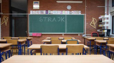 Zadnji dan štrajka koji će učiteljima biti plaćen, nastave nema u tri županije