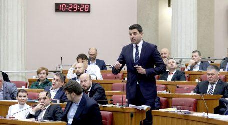 """Bernardić i Jandroković se prepucavali oko plaća: """"Ja ću pokazati svoju, ali pokažite i vi vašu"""""""