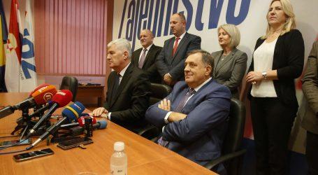 Čović optimističan da će se vlast u BiH brzo ustrojiti, Dodik nije