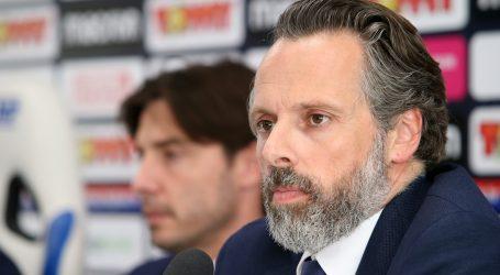 Burić ostaje na klupi Hajduka, klub napustio Lukša Jakobušić