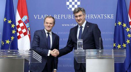 Tusk i Plenković žele vratiti jedinstvo EU-a oko S. Makedonije i Albanije