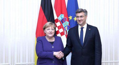 """Susreli se Plenković i Merkel: """"Njemačka je oduvijek naša prijateljska država"""""""