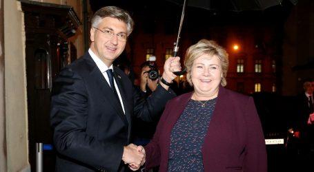 Plenković kaže kako je gospodarska suradnja Hrvatske i Norveške znatno unaprijeđena