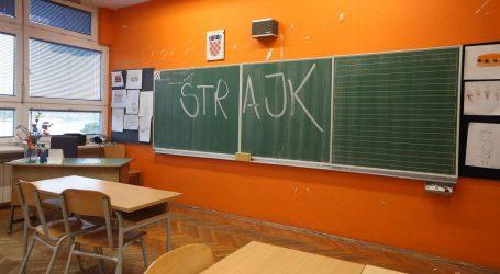 Štrajka 86,30% učitelja u Primorsko-goranskoj i 91,67% u Zadarskoj županiji