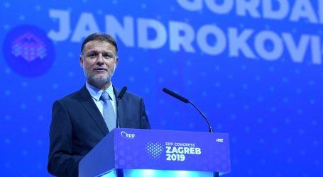 "JANDROKOVIĆ: ""Kongres EPP-a potvrda snage i ugleda HDZ-a"""