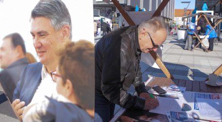 Branimir Glavaš svoj potpis za predsjedničku kandidaturu dao Zoranu Milanoviću
