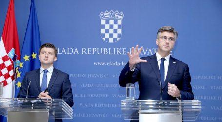 Plenković i Marić danas u Saboru 'brane' proračun