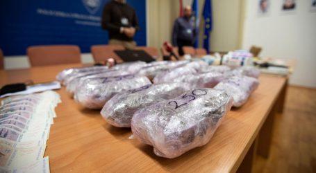 """Akcija """"Kvarner"""": Pronađena četiri kilograma amfetamina i pet kilograma marihuane"""