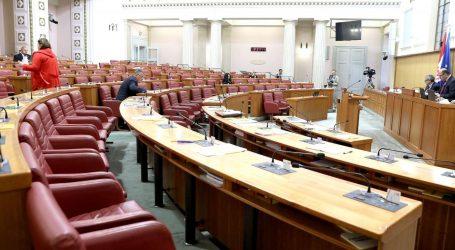 Sabor u četvrtak o državnom proračunu za iduću godinu