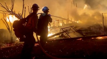 PULA Požar u trgovačkom centru