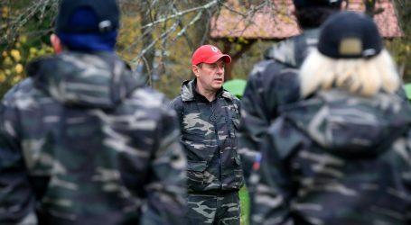 Slovenska policija razoružala pripadnike Štajerske straže