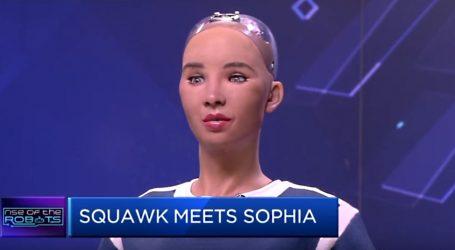 VIDEO: Ženski humanoidni robot na ispitivanju