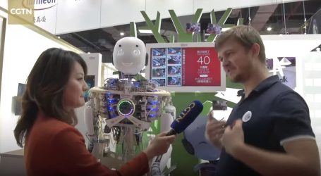 VIDEO: Humanoidni roboti na China International Import Expou
