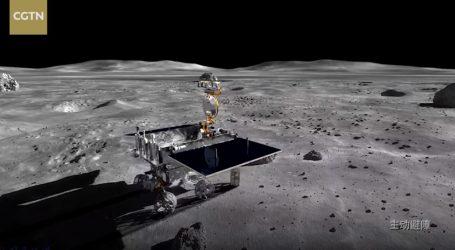 VIDEO: Lander i Yutu-2 rover ponovno miruju