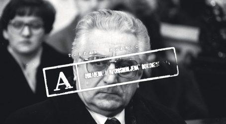 EKSKLUZIVNO Što je Udba zaplijenila u Tuđmanovu stanu uoči njegova hapšenja 1972.
