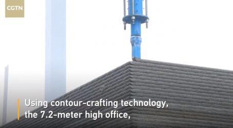 VIDEO: Jedna od najvećih zgrada rađena tehnikom 3D printa