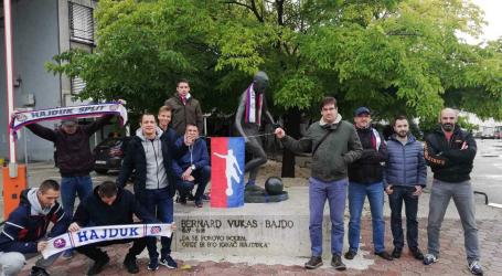 Navijači Hajduka iz Zagreba upisali Bajdu u park Za sva vrimena