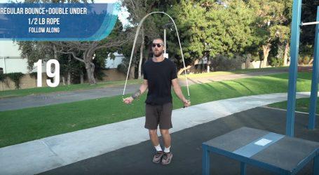 VIDEO: Preskakivanje užeta je zdrava aktivnost