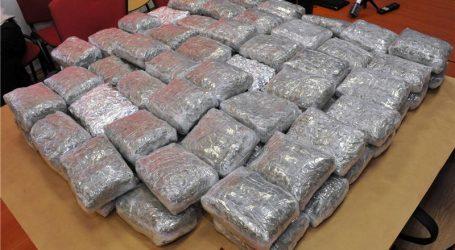 BAJAKOVO Spriječeno krijumčarenje oko 25 kilograma marihuane