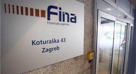 Fina: Blokirani računi 242.827 građana