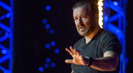 Ricky Gervais opet će (po peti puta) voditi dodjelu Zlatnih globusa