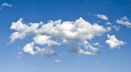 U unutrašnjosti umjereno oblačno, na Jadranu pretežno sunčano