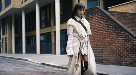 Lijepa manekenka Freya Sinyu Siu ne boji se zime