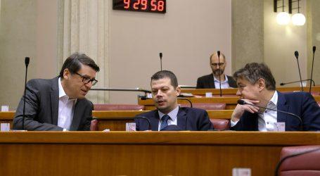 HDZ i SDP u Saboru se međusobno optuživali u raspravi o izmjeni izbornog zakona