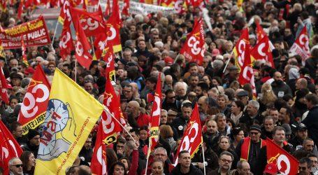 Francuska se priprema za opći štrajk zbog najavljenih promjena mirovinskog sustava