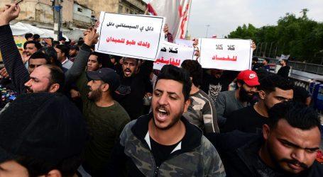 IRAK: Suzavcem po prosvjednicima ispred američkog veleposlanstva