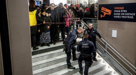Francuski željezničari prijete da će štrajkati i za Božić