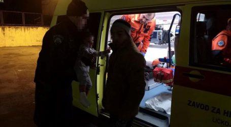 Policija s ličke Plješivice spasila ilegalne migrante – trudnicu, dvoje djece i dva muškarca