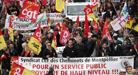 Deveti dan štrajka u Francuskoj, vlada poziva na pregovore