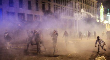 Sukobi policije i prosvjednika u Bejrutu drugu noć zaredom