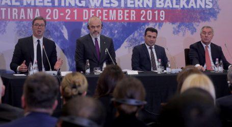"""Trilateralni sastanak u Tirani zatražio međunarodnu potporu za """"mini Schgengen"""""""