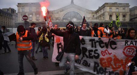 Štrajk u Francuskoj traje već kao onaj 1995.