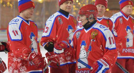 Putin, iako neispavan, zabio najviše golova