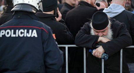 Prosvjed u Beogradu zbog spornog zakona u Crnoj Gori