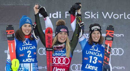 Nova pobjeda Mikaele Shiffrin, prvi slalomski bodovi za Leonu Popović