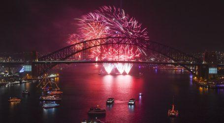 Sydney ušao u 2020. spektakularnim vatrometom usprkos požarima