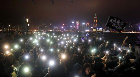 Hong Kong u 2020. ušao povicima za demokraciju umjesto vatrometom