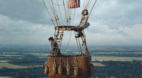 Felicity Jones preživjela veliki strah na snimanju filma 'Letači balonom'