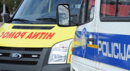 Autom pokosio policajca u Gospiću i pobjegao, teško je ozlijeđen