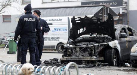 Noćas na Laništu izgorio Mercedes, vatrogasci objavili video gašenja