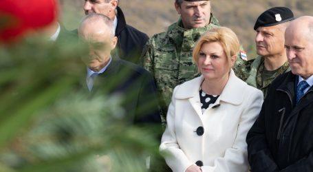 """Predsjednica novinaru na pitanje o Bandiću: """"Jeste li ozbiljni ili Radio Mileva?"""""""