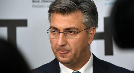 "VIDEO: Andrej Plenković: ""Glas za Škoru je glas za Milanovića"""
